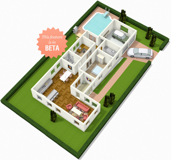 Floorplanner create floor plans house plans and home 3d house plan creator