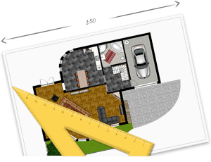 draw your floorplans quickly and easily - House Planning Design