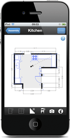 Floorplanner create floor plans house plans and home for Floor plan creator app